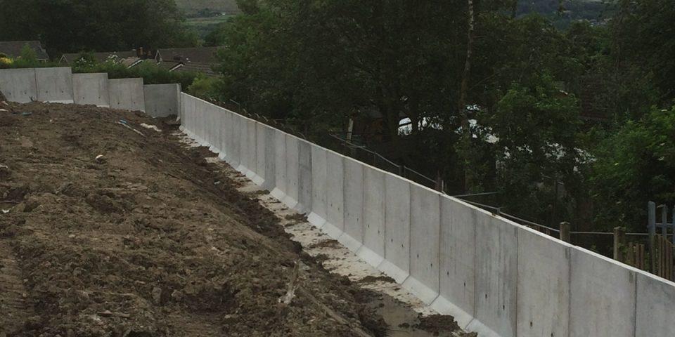 Modular Retaining Wall Installation