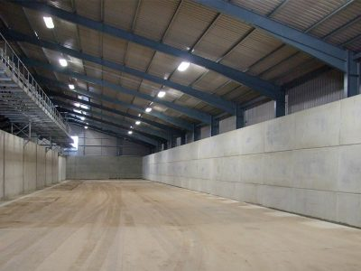 Concrete Grain Walling