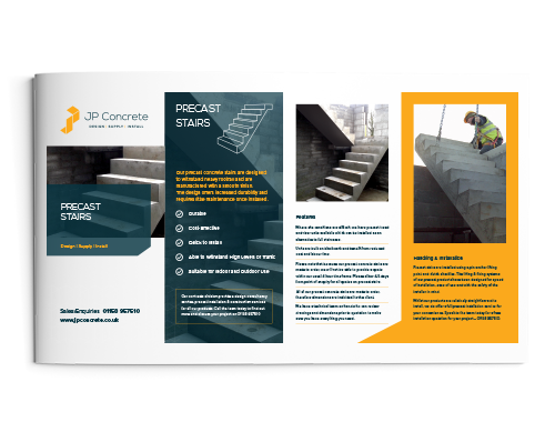 Precast Concrete Stairs Brochure Icon