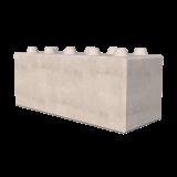 1500mm Interlocking Concrete Blocks Render