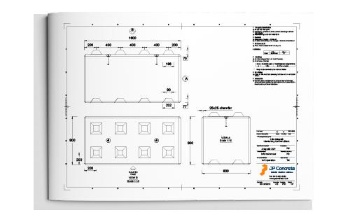 1.6m Allegro Interlocking Concrete Block Datasheet