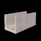 1m x 1m Concrete Channel Render