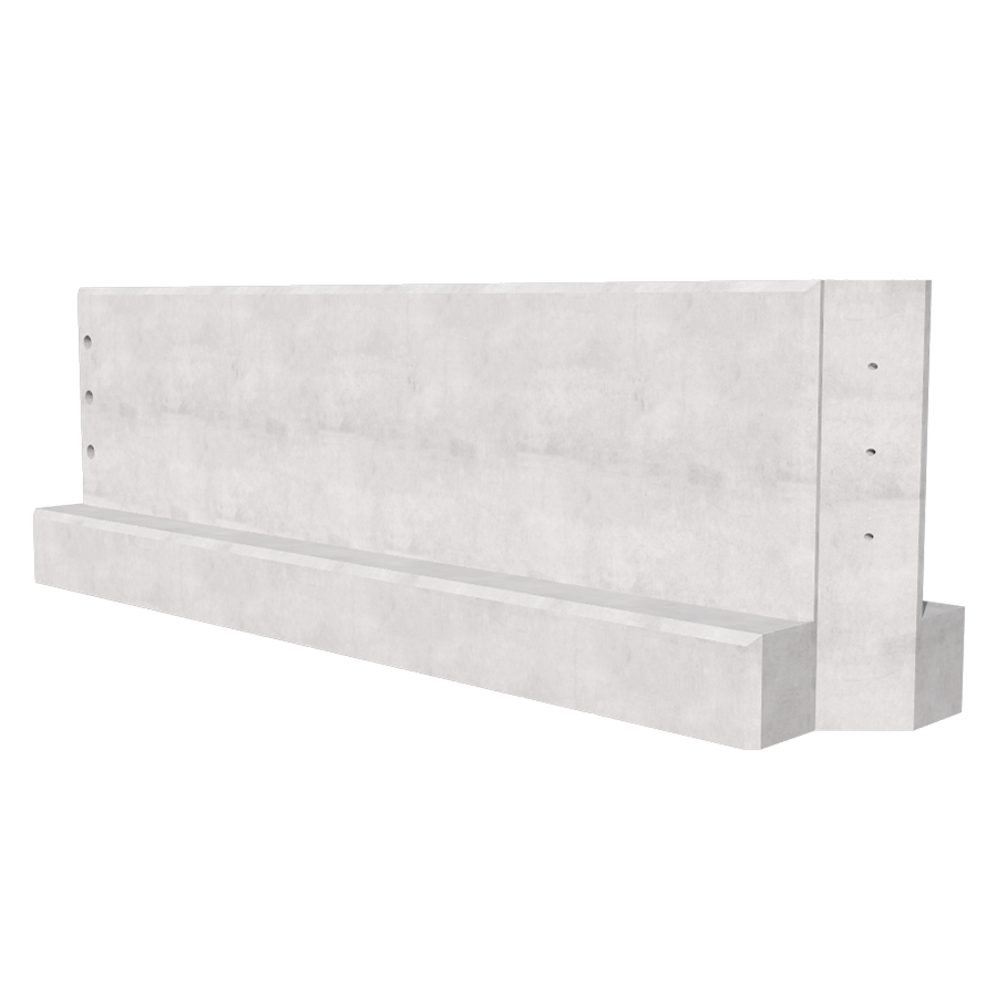 3.0m Concrete Barrier