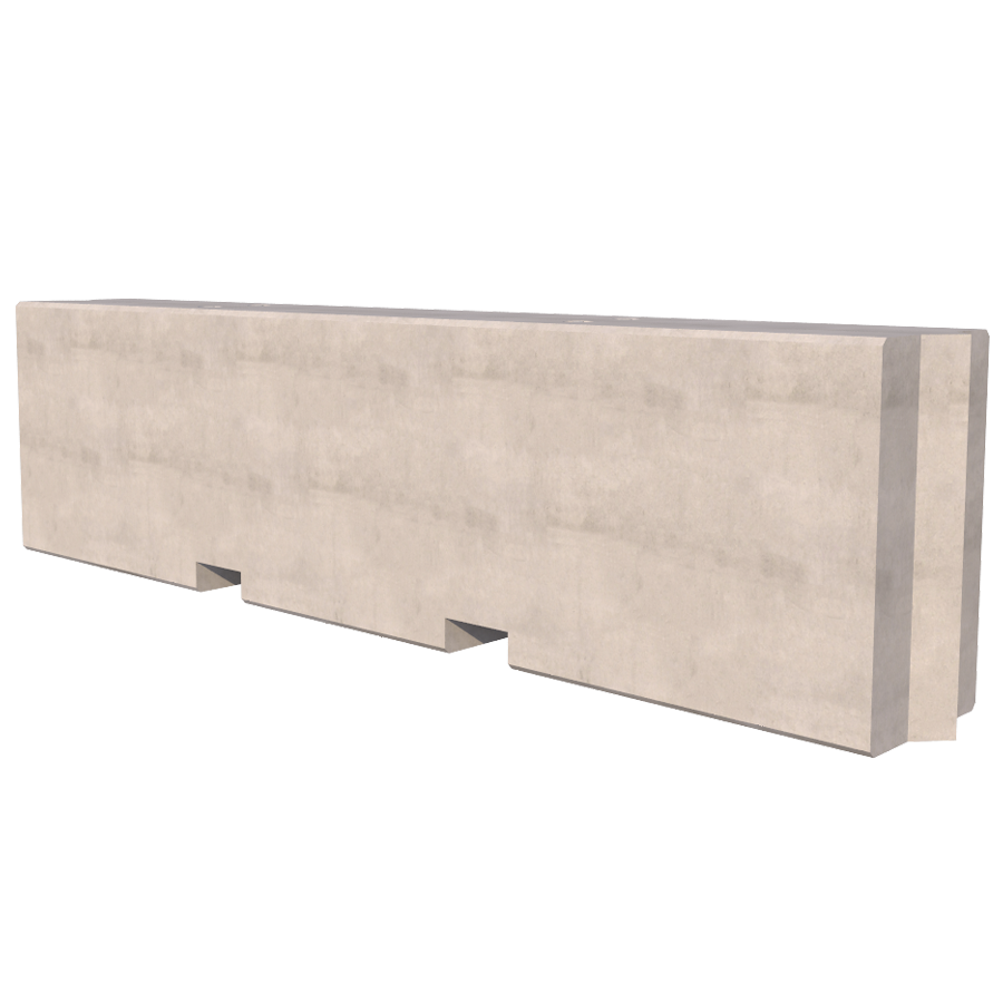3000mm Concrete Hoarding Block
