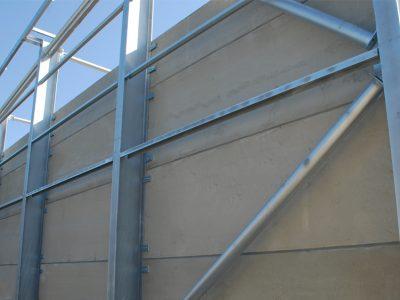 Horizontal Prestressed Concrete Panels