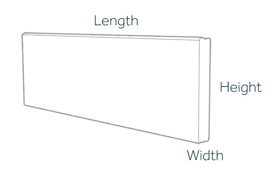 Horizontal Prestressed Panel Dimensions