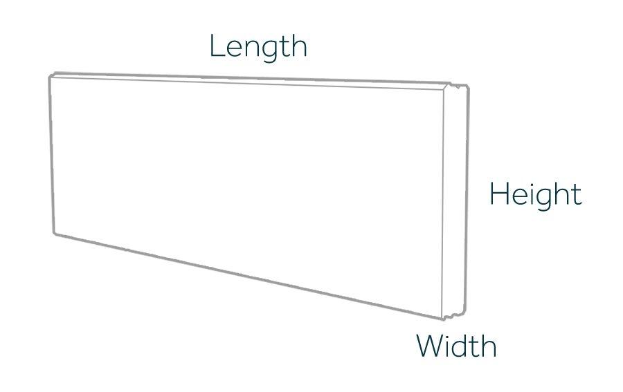 Horizontal Prestressed Panel Dimensions