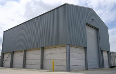 Prestressed Panels In Storage Building