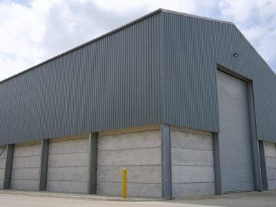 Prestressed Panels In Storage Building