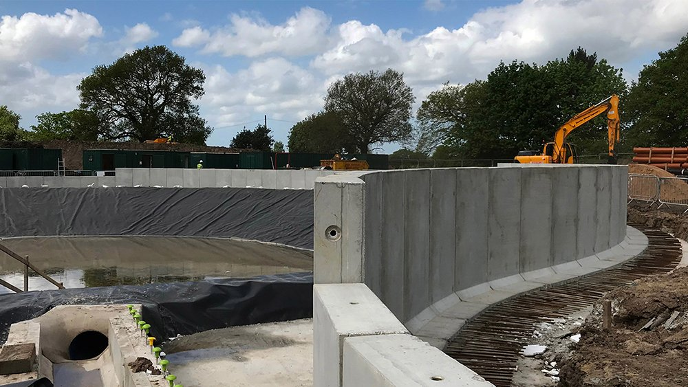 Cost Effective Precast Retaining Wall Solutions Jp Concrete