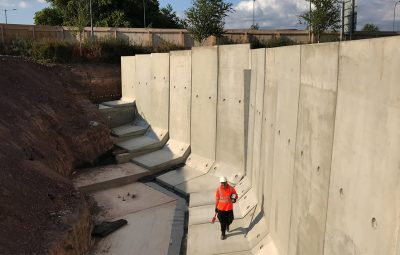 Warwick University Modular Retaining Wall