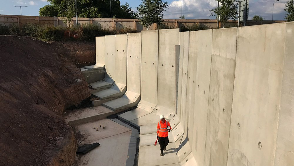 Cost-effective Precast Retaining Wall Solutions - JP Concrete