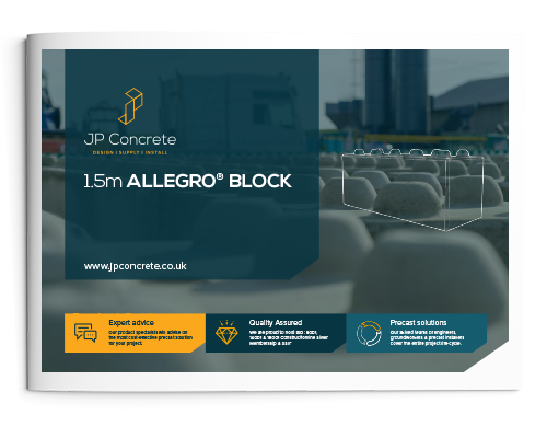 1.5m Allegro Interlocking Concrete Block Product Brochure