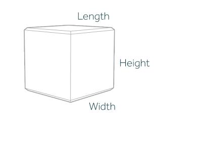 1000kg Concrete Ballast Block Dimensions