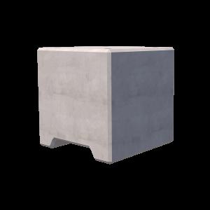 2400kg Precast Concrete Ballast Block Render