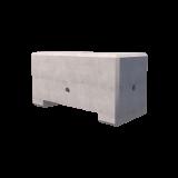 850kg Precast Concrete Ballast Block