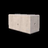 850kg Concrete Ballast Block Render