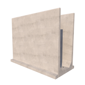 Agri U Retaining Wall Render