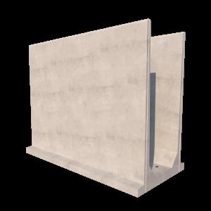 Agri U Retaining Wall Render