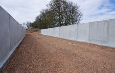 Agri U Silage Clamp Retaining Walls