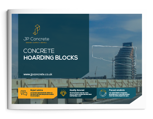Concrete Hoarding Block Product Brochure