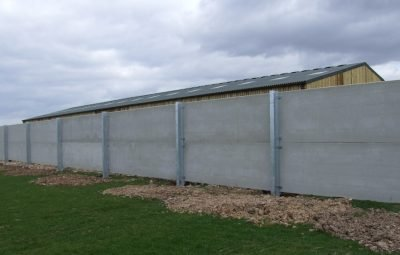 King Post Wall Concrete Panels