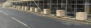 Scafolding Ballast Block Banner