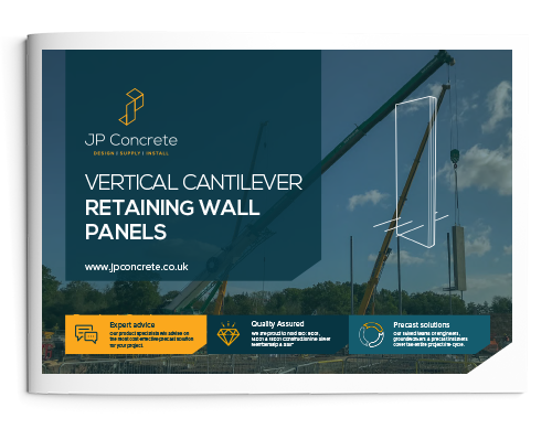 Vertical Cantilever Retaining Wall Brochure