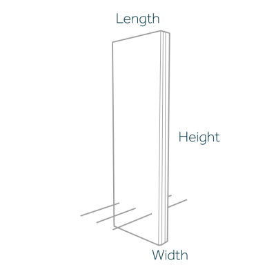 Vertical Cantilever Retaining Wall Dimensions