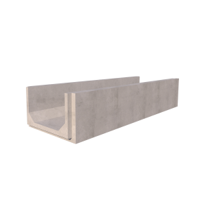 810mm x 500mm Concrete Channel Render