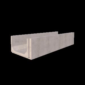 810mm x 500mm Concrete Channel Render