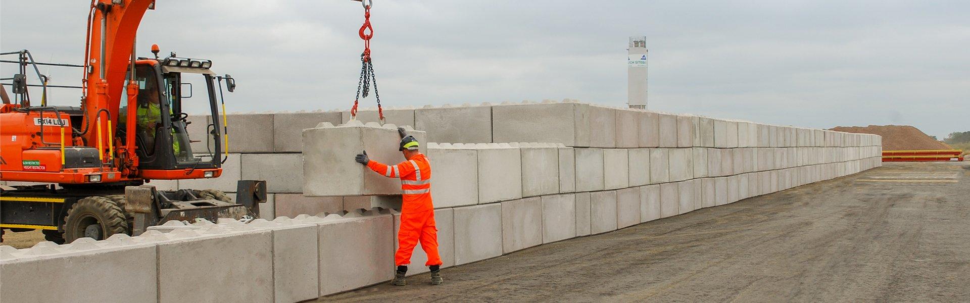 Interlocking Concrete Blocks For Retaining Walls Jp Concrete