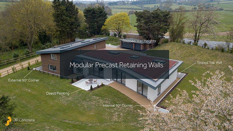 Modular Precast Retaining Wall