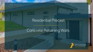 Residential Precast Concrete Retaining Walls