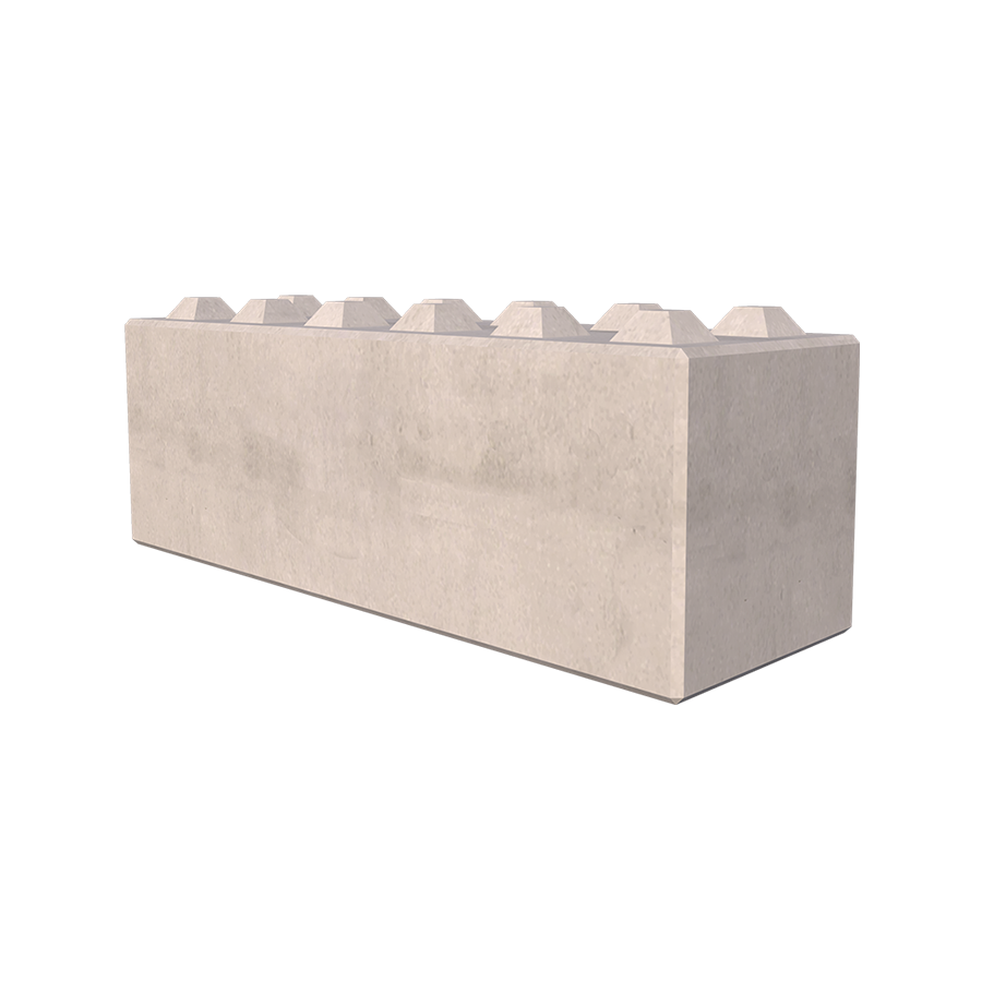 1.8m Allegro® Interlocking Concrete Blocks
