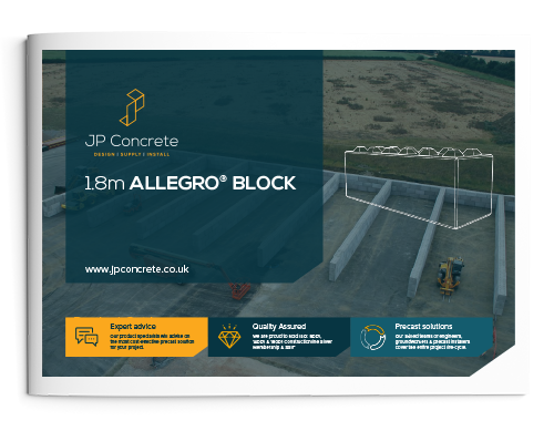 1.8m Allegro Interlocking Concrete Block Product Brochure