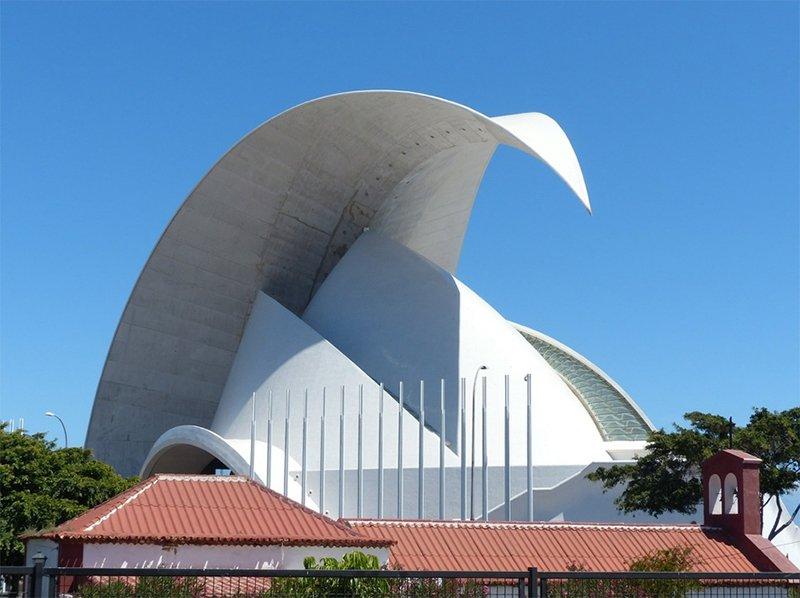 Santiago Calatrava Auditorium in Santa Cruz, Tenerife