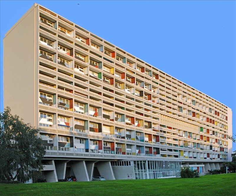 Unite d'Habitation Building in Marseille