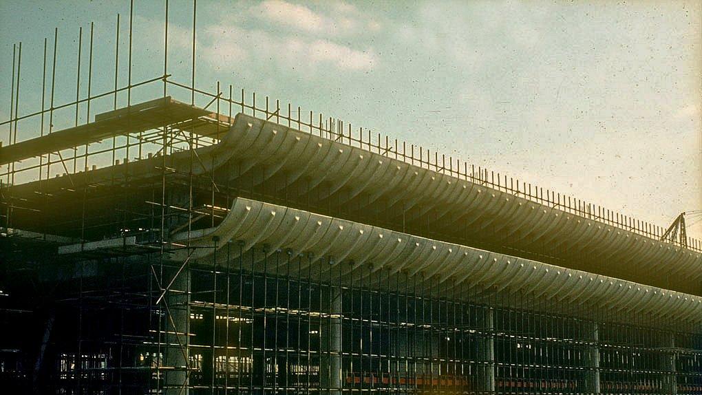 preston bus station under construction
