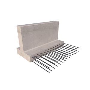 Pedestrian Safety Barrier Render